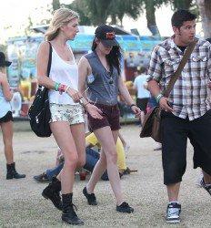 Kristen étais à Coachella le 21 avril 2012