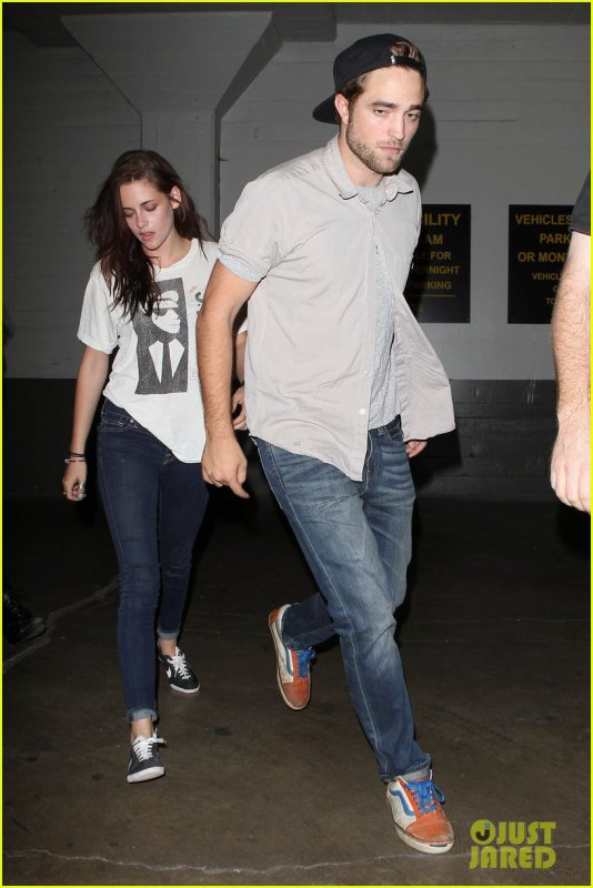 Robsten à l'Hôtel Cafe à Hollywood