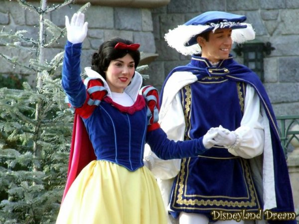 Blanche neige et son prince disneyland paris - Blanche neige et son prince ...