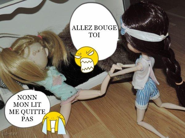 Un cambrioleur dans la dollhouse ?