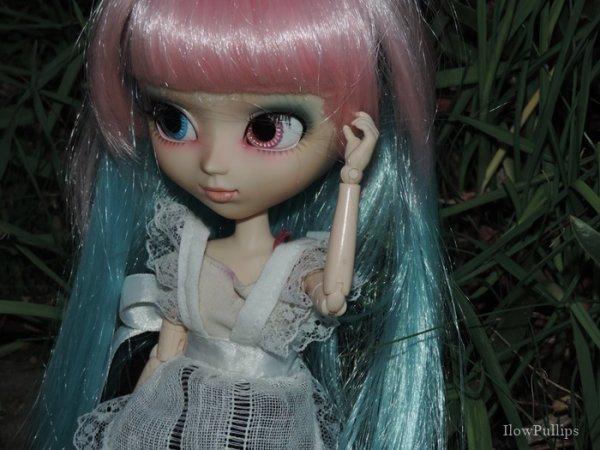 Aurélie dans le froid