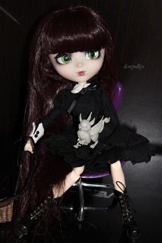 Luna et son animal :3