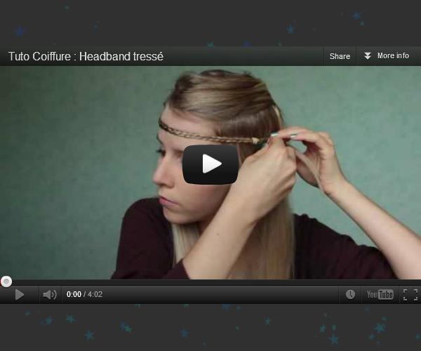 Tuto Coiffure : Headband tressé