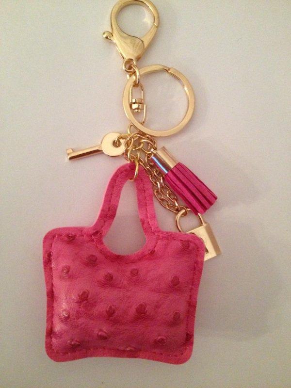 Porte clé / déco sac a main