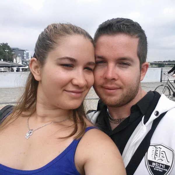 Moi et mon ange à Maastricht aux Pays-Bas :)