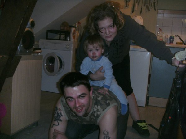 lilou, papa et maman