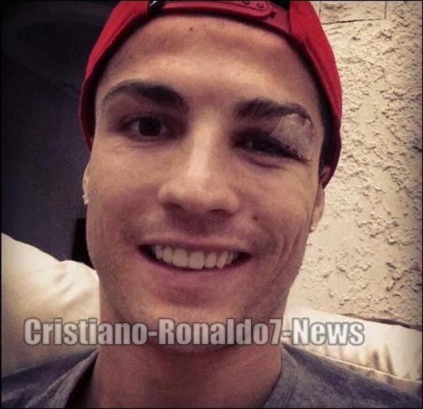 Cristiano Ronaldo a publié ceci sur Facebook: