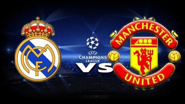 Ce soir réal Madrid - Manchester united à 20h45