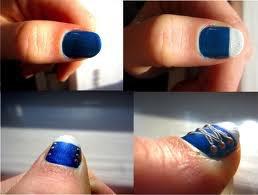 Comment dessiner des converse sur ses ongles?