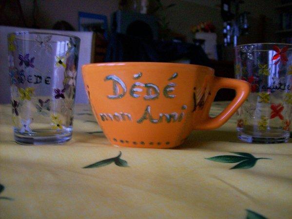 Cadeaux offerts par ma douce Amie Patricia.