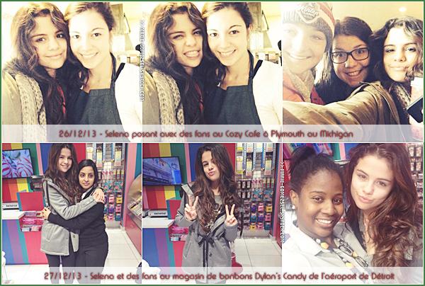 . Vendredi 27 Décembre....Selena, Katy Perry et ses amis étaient au concert de Britney Spears à Las Vegas.