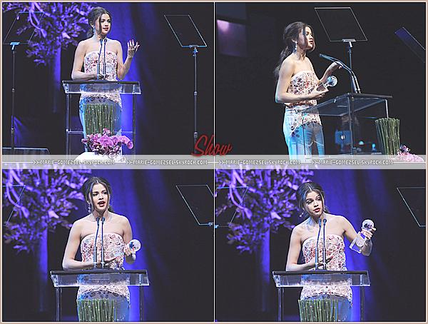 . Jeudi 27 Février....Selena a assistée au Unite 4 : Humanity Awards qui se sont déroulés à Los Angeles.