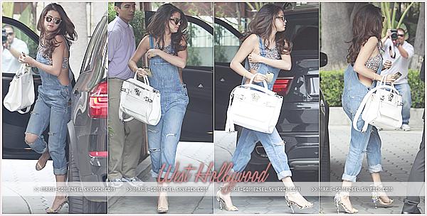 . Samedi 22 Mars....Selena a été aperçue arrivant à l'hôtel Sunset Tower dans West Hollywood.