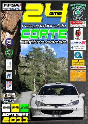 24° RALLYE NATIONAL DE CORTE CENTRE-CORSE 16-18 SEPTEMBRE