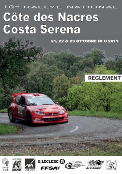 10° Rallye National Côte des Nacres - Costa Serena