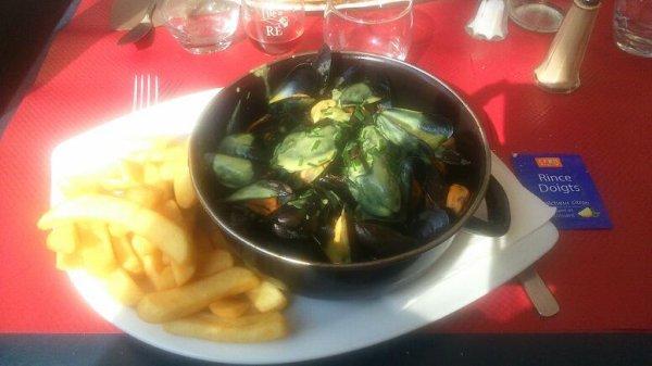 Bonjour de la Rochelle. Bonne appétit