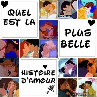 Quel est la plus belle histoire d'amour ?