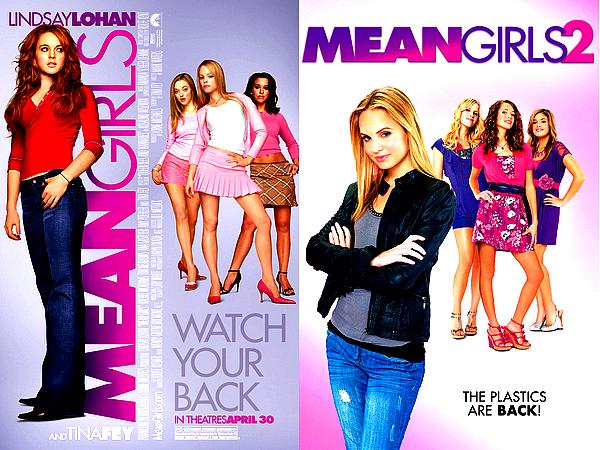 RUBRIQUE FILM     « Mean Girls » : la comédie pour adolescents devenue culte ! La suite est-elle parvenue à l'égaler ?   Beaucoup d'entre vous m'ont dit avoir découvert Rachel dans « Lolita Malgré Moi », j'ai donc eu envie de faire un article consacré à ce film, que personnellement j'aime beaucoup et dont je ne me lasse pas. C'est un classique du genre. Etant donné que j'ai justement regardé le deuxième très récemment, j'en ai profité pour opposer les deux films et vous poster mon avis ! Vous n'aurez aucun mal à deviner vers lequel ma préférence va, mais je trouve que le deuxième mérite tout de même quelques mots. Et vous, avez-vous vu « Mean Girls » / « Mean Girls 2 » ? Lequel est votre préféré ?  :)