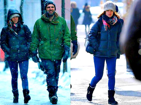 Le 10/02 :  Rachel a été vu alors qu'elle se promenait avec son ami Patrick Sambrook, à Montréal  Cela fait plusieurs jours que je recherche ces photos. Ce candid date en effet du début du mois et je n'étais pas parvenu à le trouver jusqu'à aujourd'hui. Je suis donc très contente de pouvoir (enfin) vous faire partager cette petite sortie de Rachel sous la neige ! L'actrice était à Montréal afin de tourner de nouvelles scènes du film « Every Thing Will Be Fine » (avec James Franco et Charlotte Gainsbourg) dont le tournage est désormais achevé.