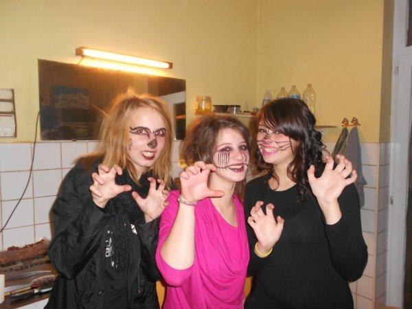Halloween avec la belle soeur et la meilleure amiie <3