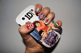 one direction nail