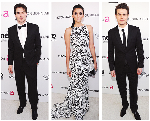 21st Annual Academy Viewing Party : Nina, Paul & Ian