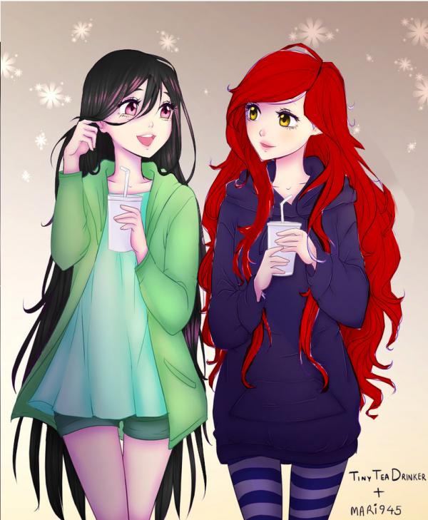 ♥Kate et Nadège♥ _pré-adolescentes 11-12-13 ans_