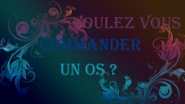 Voulez-vous commander un OS ?