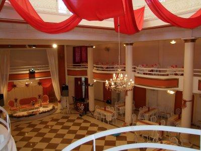 Vue dangle sur la mezzanine de la salle juin 2011