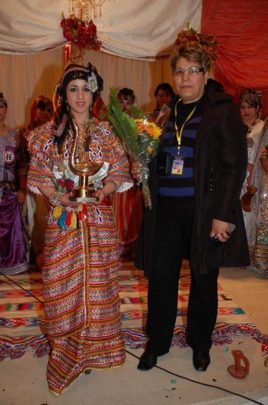Photo belle robe kabyle