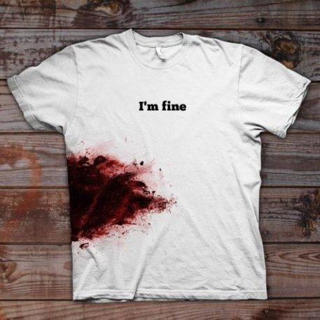 -I'm fine-