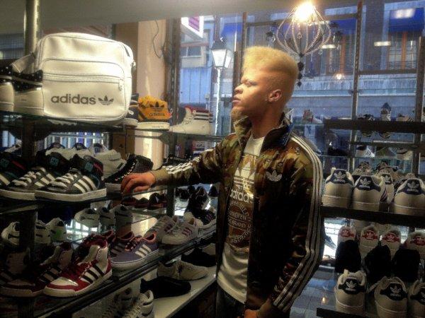 Tikeboss Adidas treillis milliaire