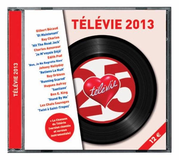 """Le CD """"Télévie 2013"""""""