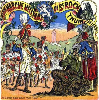 prochainne sortie la Marche folklorique Saint-Roch à Thuin haujourd houi