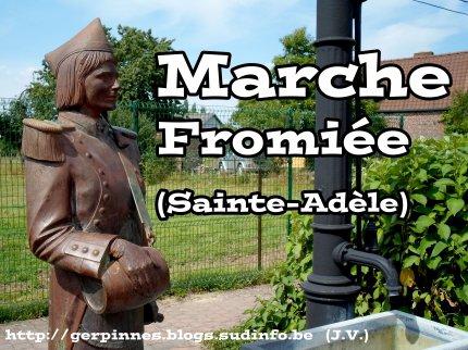 prochainne sortie dimanche  Marche Sainte Adèle à Fromiée