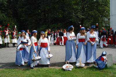 prochaine sortie marche folklorique saint louis Marcinelle dimanche