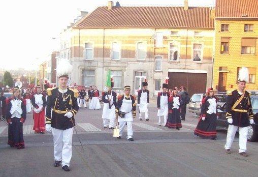 prochaine sortie marche folklorique saint louis Marcinelle du 25 aout au 27 aout