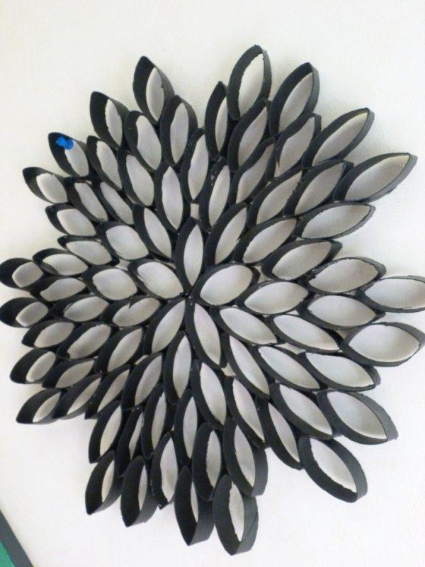 décor carton flower