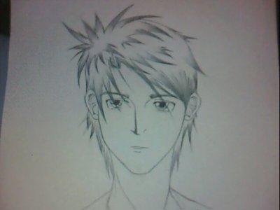 Kurogane dessiner pas un ami (sa se voi que c pas de moi mdr)