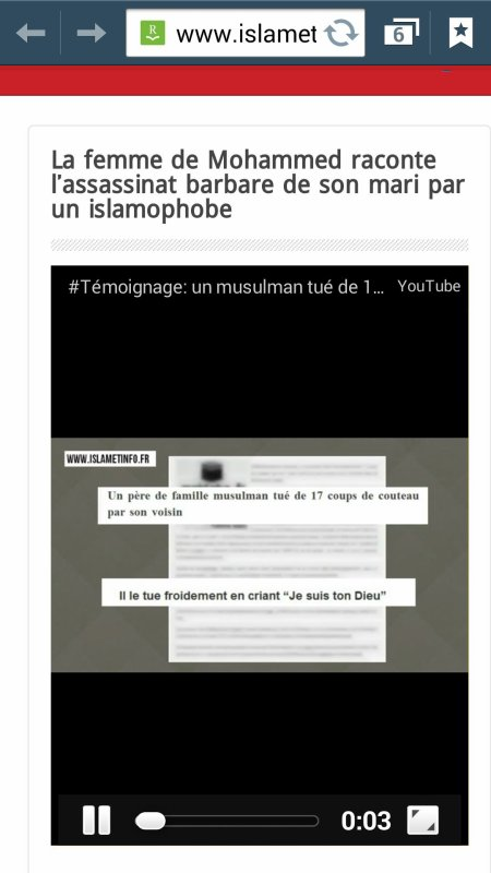 Contre l'islamophobie