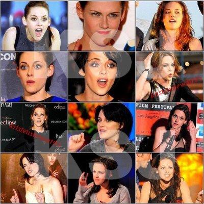 Kristen et ses grimaces .... toute une histoire !