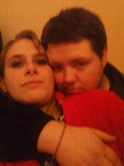 ma fiancé d'amour et moi
