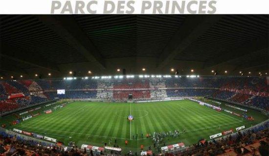 le fond d'écran du parc des princes en tifos - Skyblog ...
