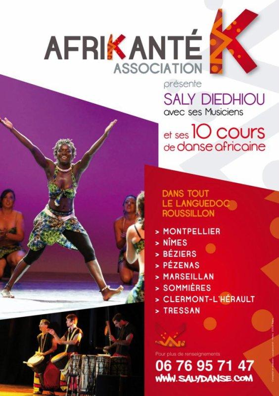 DANSE AFRICAINE LANGUEDOC ROUSSILLION