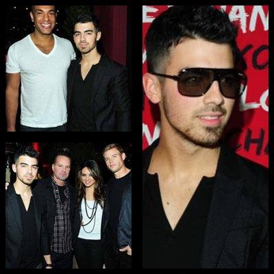 09/12/10 Joe c'est rendu vendredi à la soirée très privé NYLON & Armani, il était notamment aux cotés de Mila Kunis, Matt Prokop, ou encore Sara Paxton. Il arbore, vous le remarquerez un nouveau style  :D