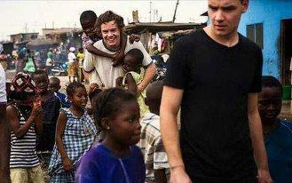 les boys au ghana <3