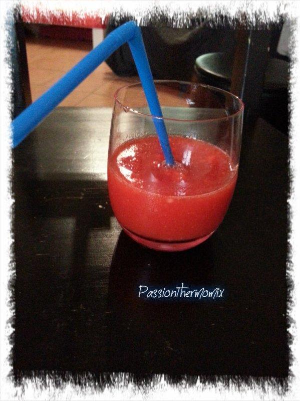 Vodka fraises