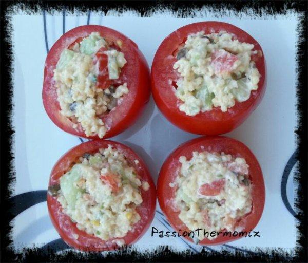 Tomates fraîcheur aux céréales
