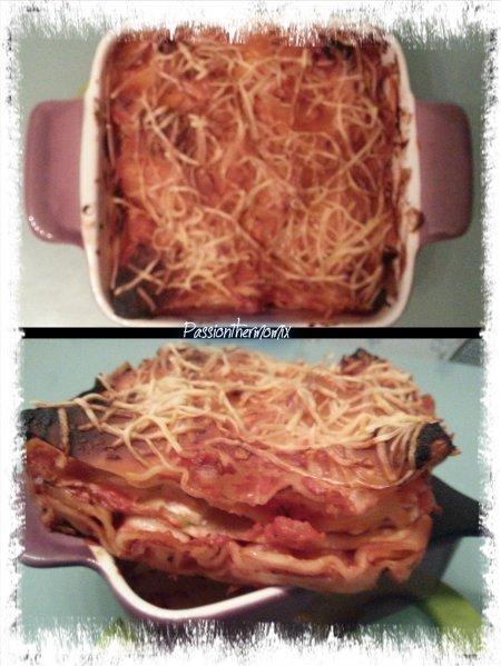 Lasagne courgette, saumon & ricotta