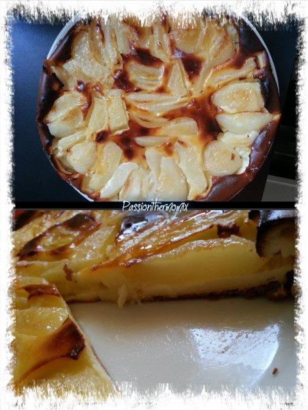 Clafoutis façon tarte au poire